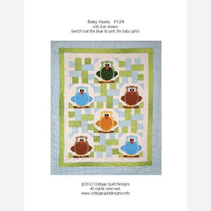 Baby Hoots - PDF Quilt Pattern