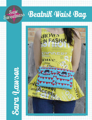 Beatnik Waist Bag - Accessory Pattern from Color Inspirations Club by Sew Sweetness for Alison Glass Design