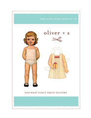 Birthday Party 6m - 3t - PDF Apparel Pattern from Liesl and Co by Oliver And S