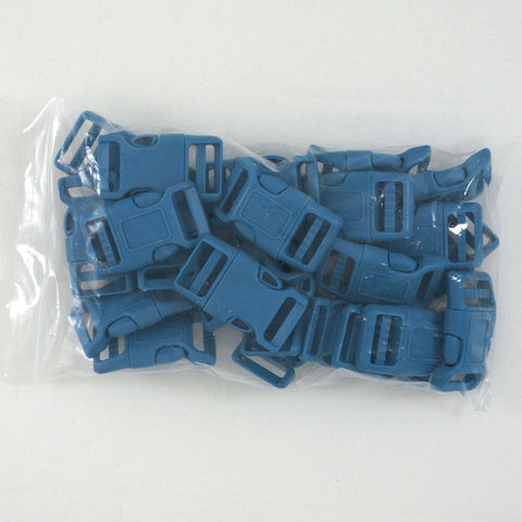 "Side Release Buckle (for 1"" Straps) - Blue (25-Pack)"