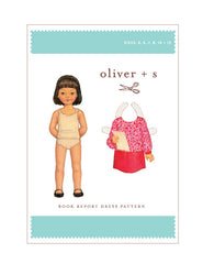 Book Report 5 - 12 - PDF Apparel Pattern from Liesl and Co by Oliver And S
