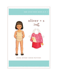 Book Report 6m - 4 - PDF Apparel Pattern from Liesl and Co by Oliver And S