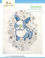 Boston - PDF Accessory Pattern by Penguin and Fish