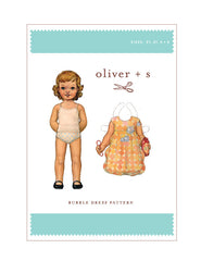 Bubble Dress 2t - 5 - PDF Apparel Pattern from Liesl and Co by Oliver And S