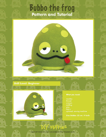 Bubbo the Frog - PDF Accessory Pattern