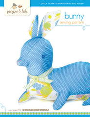 Bunny - PDF Accessory Pattern by Penguin and Fish