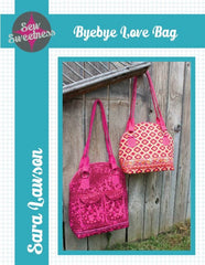Byebye Love Bag - Accessory Pattern from Japanese Quilt Artist Series by Sew Sweetness for World Book Media