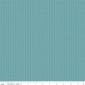 C445-TEAL Circle Dot in Teal by The RBD Designers for Riley Blake Designs at Pink Castle Fabrics