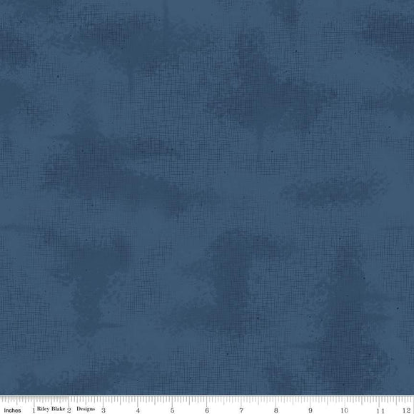 C605-NAVY Shabby in Navy by Lori Holt for Riley Blake Designs at Pink Castle Fabrics