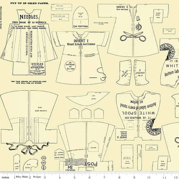 Paperdoll Clothes in Yellow