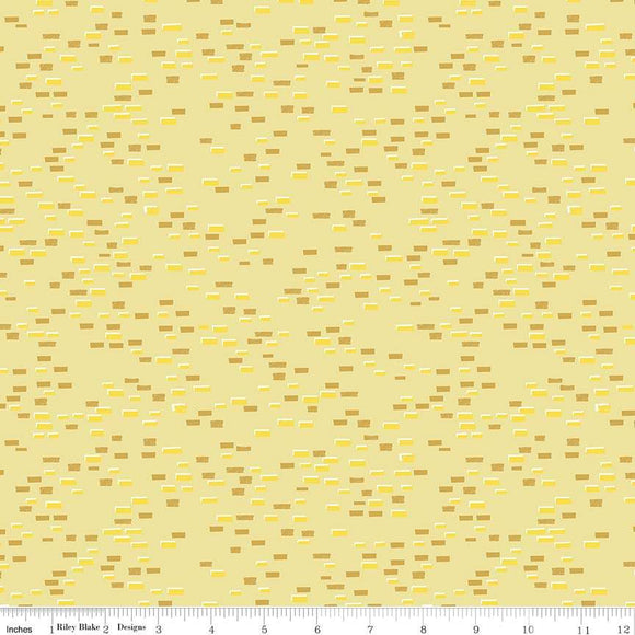C8684-YELLOW Dorothy's Journey Yellow Brick Road in Yellow by Jill Howarth for Riley Blake Designs from Pink Castle Fabrics