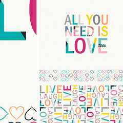 Letters All You Need Is Love from Letters Love by Art Gallery House Designers  for Art Gallery