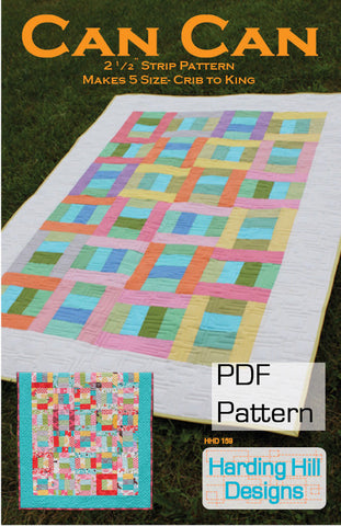 Can Can - PDF Quilt Pattern