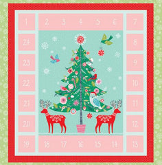 Winter Wonderland Advent Calendar in Multi from Winter Wonderland by Dashwood Studio House Designers  for Dashwood Studio