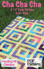 Cha Cha Cha - PDF Quilt Pattern by Harding Hill Designs