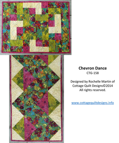 Chevron Dance - PDF Quilt Pattern