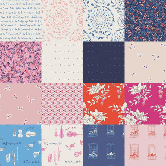 Sonata - Fat Quarter Bundle