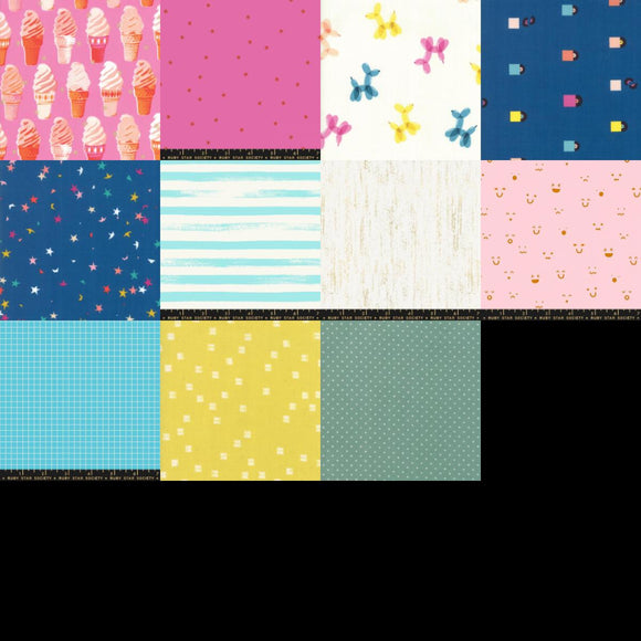 Ruby Star Society Club - September 2019 - Fat Quarter Bundle
