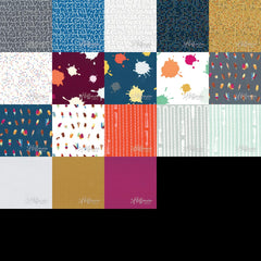 Double Dutch - Fat Quarter Bundle from Double Dutch by Latifah Saafir Studios for Hoffman Fabrics