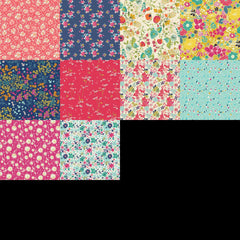 Fusion - Abloom - Fat Quarter Bundle from Abloom by Pink Castle Fabrics House Designers  for Art Gallery
