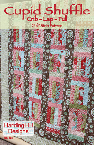 Cupid Shuffle - PDF Quilt Pattern