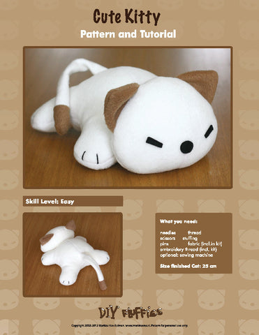 Cute Kitty - PDF Accessory Pattern