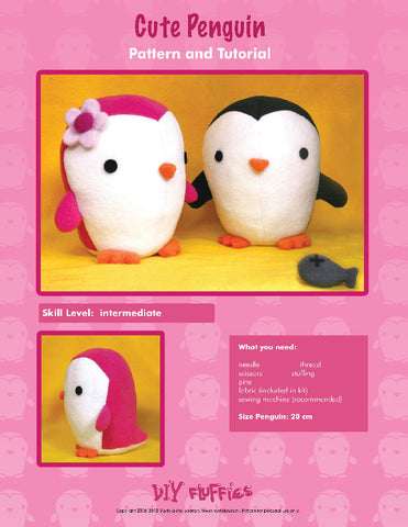 Cute Penguin - PDF Accessory Pattern