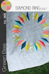 Diamond Ring – Printed Quilt Pattern from Maribel by Green Bee Patterns for Stash Books