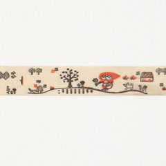 La Stéphanoise Flower Picking Twill Tape from La Stephanoise Tape by La Stéphanoise House Designers  for La Stephanoise
