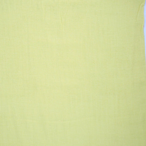 Double Gauze Solid in Light Yellow