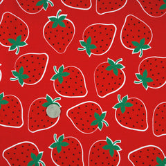 Large Strawberries in Red from L Collection by Kokka House Designers  for Kokka