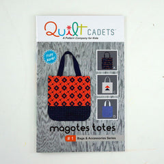 Magotes Totes - Paper Accessory Pattern from Grafic by Quilt Cadets for Hoffman Fabrics