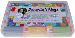 Aurifil Designer Thread Collection - Favorite Things - 12 Large Spools by Jeni Baker