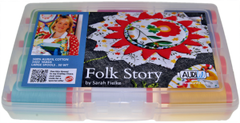 Aurifil Designer Thread Collection - Folk Story - 12 Large Spools from Botanics by Sarah Fielke
