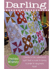 Darling - PDF Quilt Pattern by Freckled Whimsy