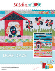 Dog Daze - PDF Quilt Pattern by Stitches of Love
