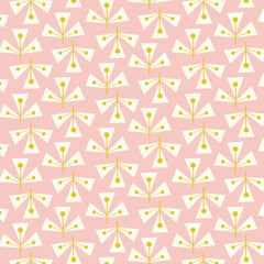 Confetti Dotty Leaf in Pink from Confetti by Rachel Cave for Dashwood Studio