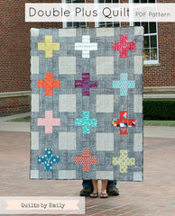 Double Plus - PDF Quilt Pattern by Quilts By Emily