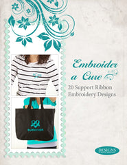Embroider a Cure - 20 Support Ribbon Embroidery Designs CD for Janome
