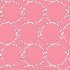 Essentials 2 Hula Hoops in Blush from Essentials 2 by Art Gallery House Designers  for Art Gallery