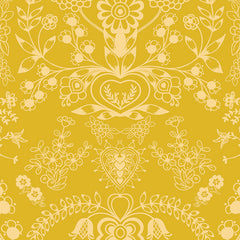 Essentials 2 Floralism in Gold from Essentials 2 by Pat Bravo for Art Gallery Fabrics
