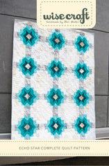 Echo Star - PDF Quilt Pattern by Wise Craft