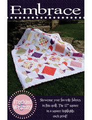 Embrace - PDF Quilt Pattern by Freckled Whimsy