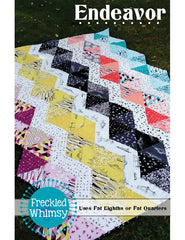 Endeavor - PDF Quilt Pattern by Freckled Whimsy