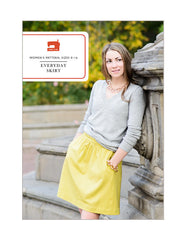 Everyday Skirt - PDF Apparel Pattern from Liesl and Co by Oliver And S