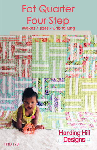 Fat Quarter Four Step - PDF Quilt Pattern