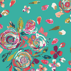 Swifting Flora in Boho from Boho by Art Gallery House Designers  for Art Gallery