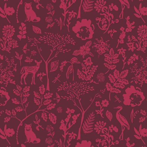 FUS-FO-2108 Foresta Fusion Flora and Fauna by Sharon Holland for Art Gallery Fabrics at Pink Castle Fabrics