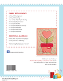 Flower Pot Mug Rug - PDF Quilt Pattern