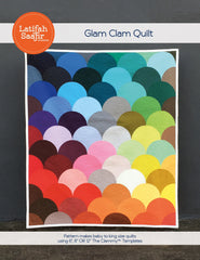 Glam Clam Quilt - Paper Quilt Pattern from Grafic by Latifah Saafir Studios